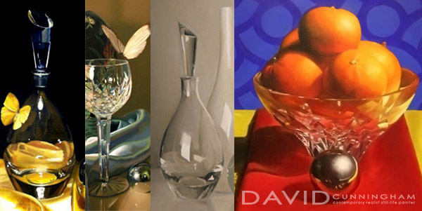 How to paint glass and reflections in oil for How to paint glass with oil paint